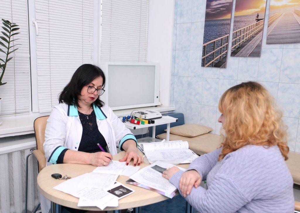 Услугі терапевта Киев
